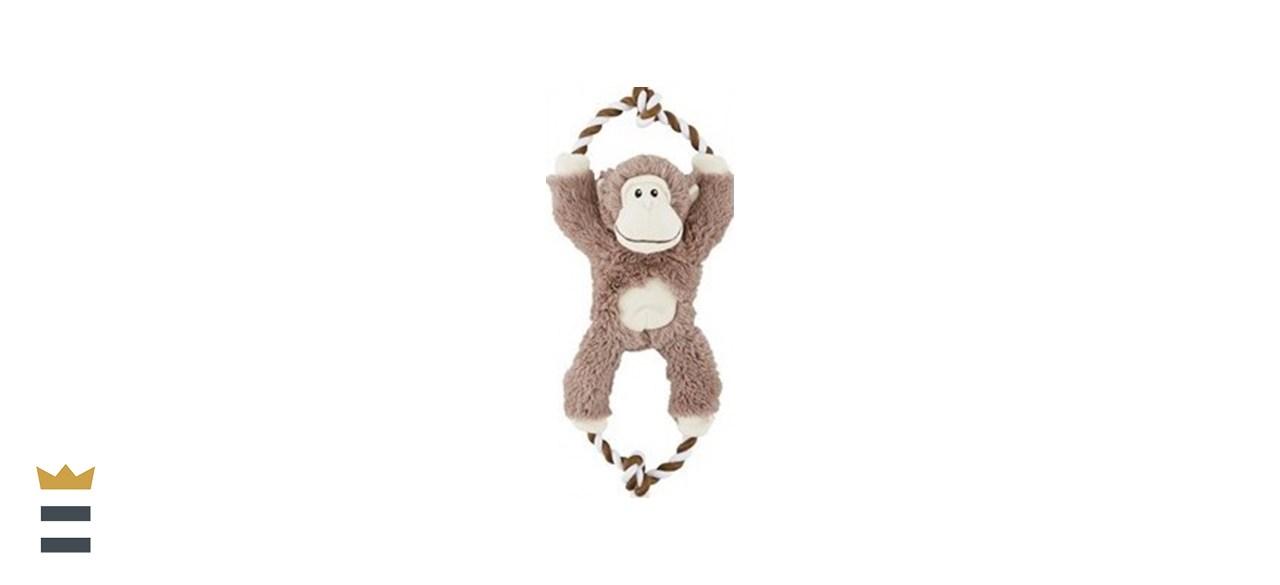 Frisco Monkey Plush with Rope