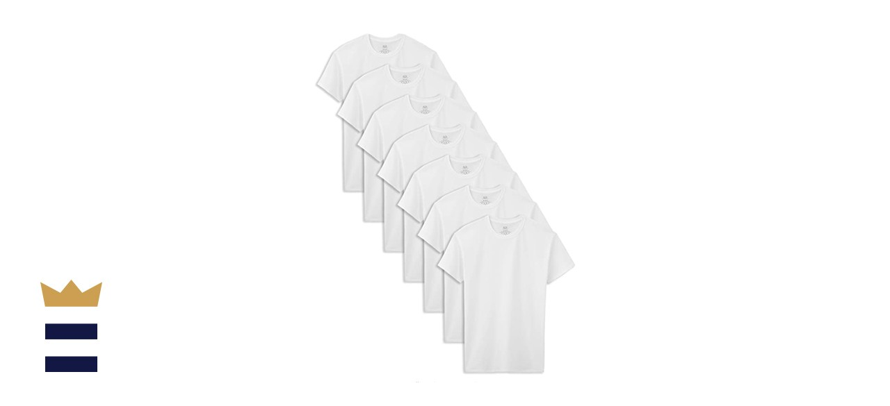 Fruit of the Loom Cotton White T-Shirts