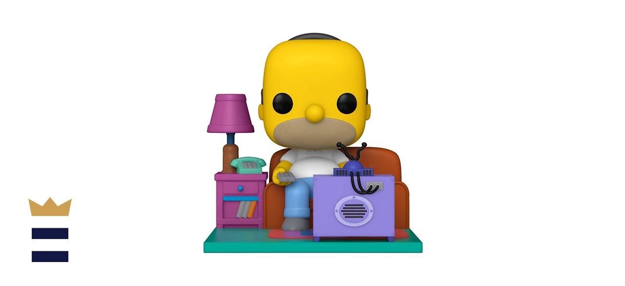 Funko Pop Deluxe Simpsons Homer Watching TV