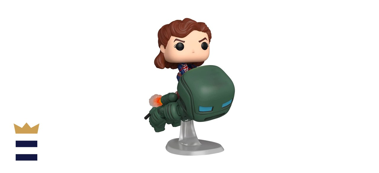 Funko Pop Deluxe What If Captain Carter Riding Hydra Stomper