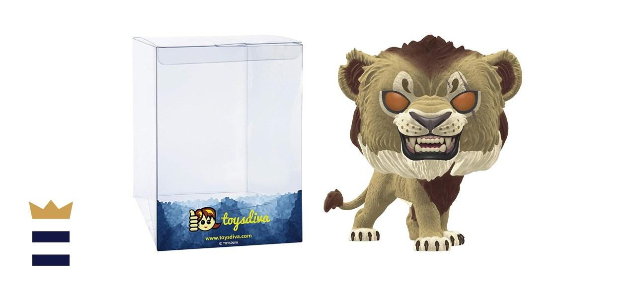 Funko Pop! Disney The Lion King Scar Flocked Exclusive