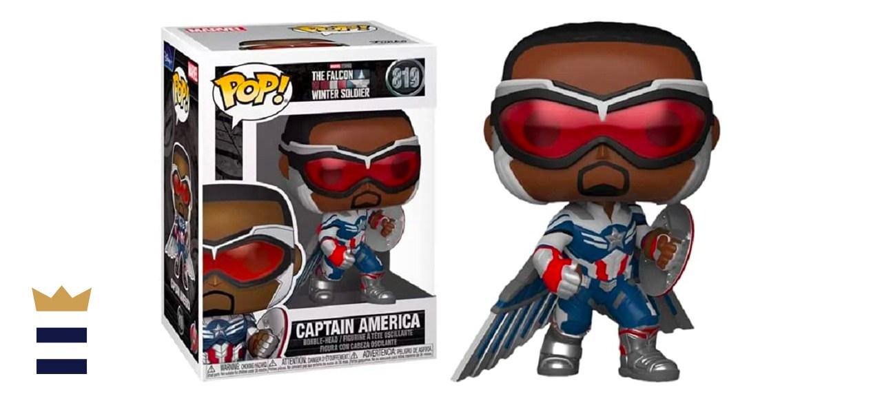 Funko Pop Falcon and the Winter Soldier Captain America