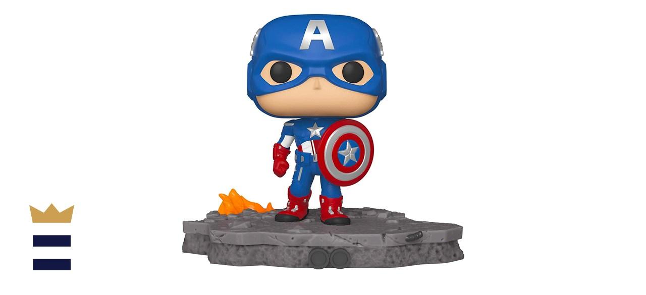 Funko Pop! Deluxe, Marvel: Avengers Assemble Series - Captain America