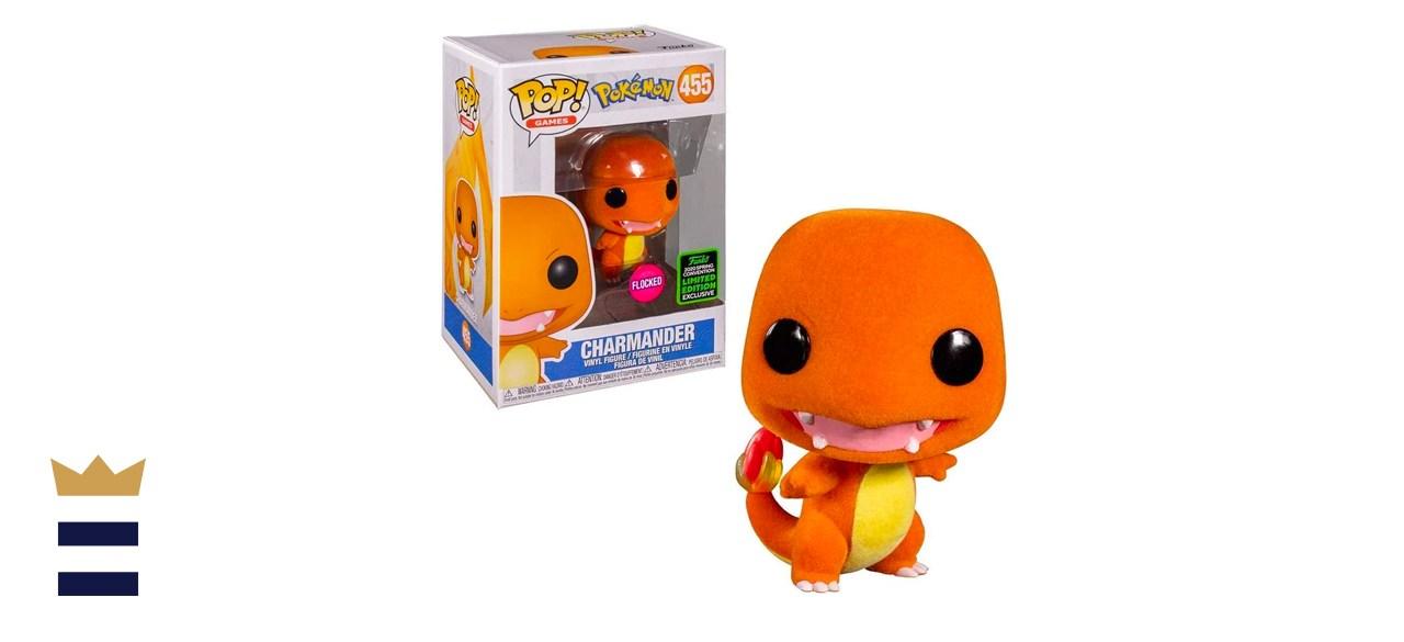 Funko POP! Games: Pokémon - Charmander [Flocked]