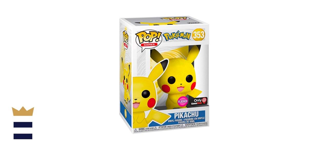 Funko POP! Games: Pokémon - Pikachu [Flocked]