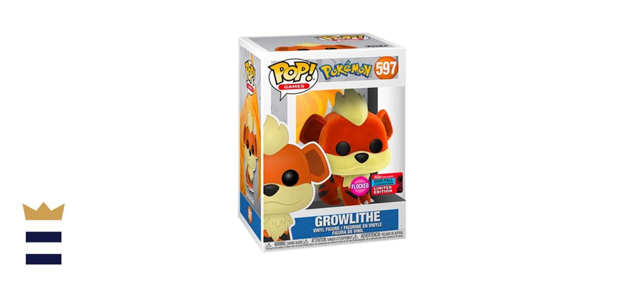 Funko POP! Games: Pokémon Growlithe [Flocked]