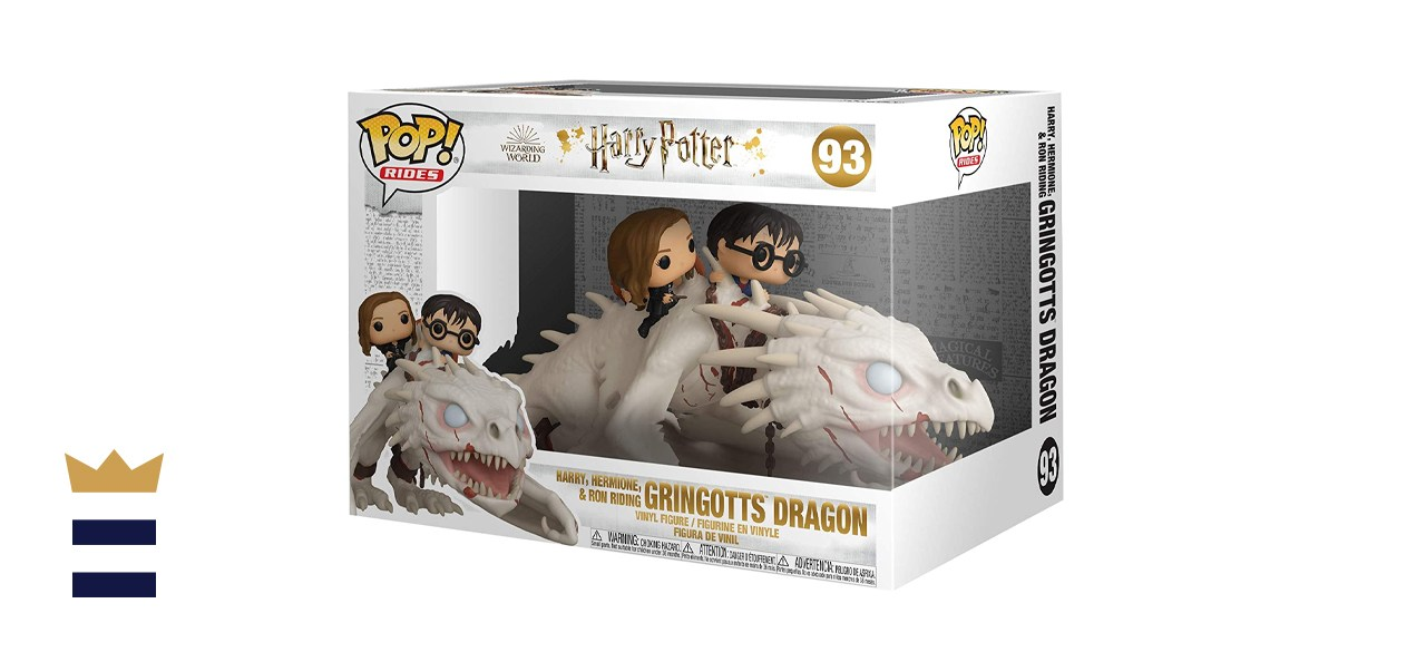 Funko Pop! Rides: Gringotts Dragon with Harry, Ron, and Hermione, Vinyl Figure
