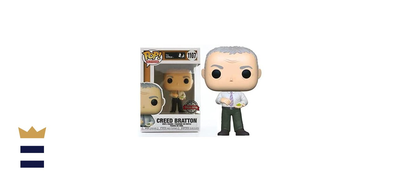 Funko POP! Television The Office Creed Bratton with Mung Beans