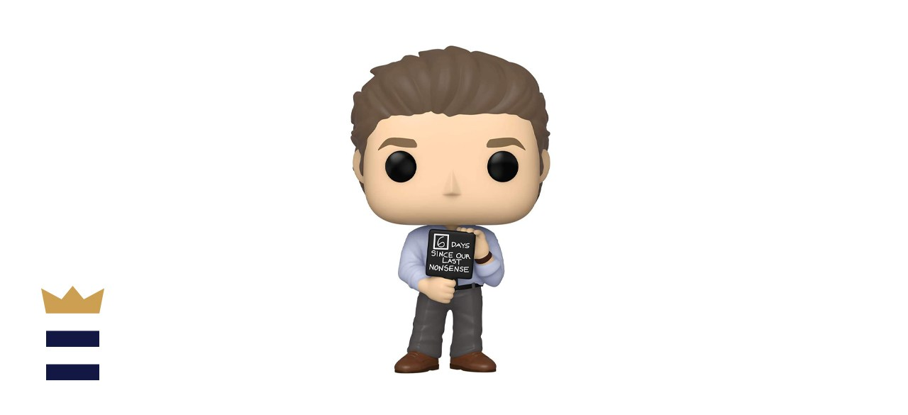 Funko Pop! TV: The Office Jim with Nonsense Sign