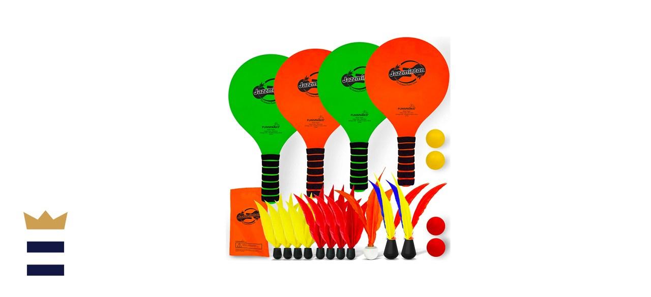 Funsparks Jazzminton Paddle Game