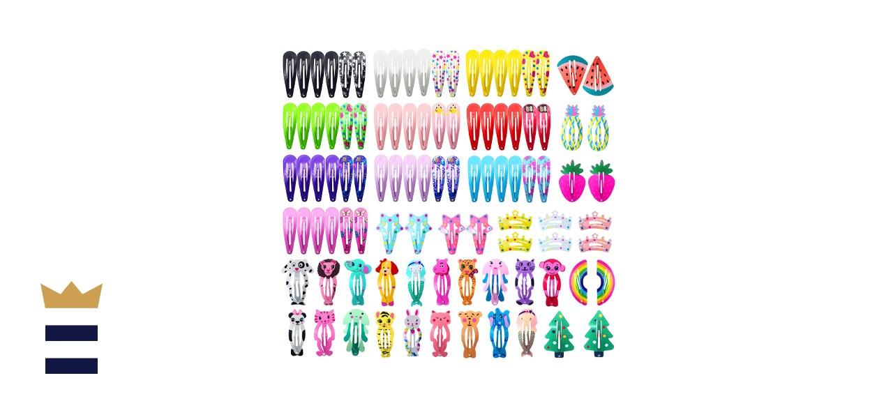 Funtopia Hair Clips - 100 pieces