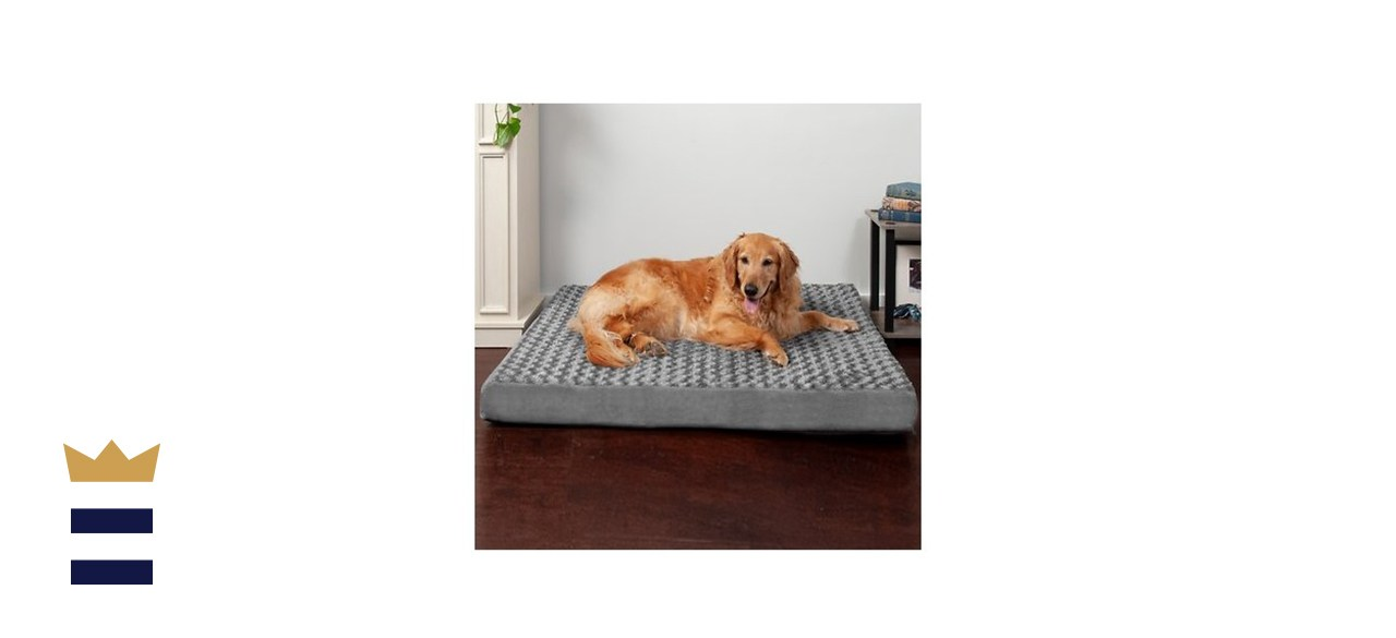 FurHaven NAP Ultra Plush Orthopedic Deluxe Cat & Dog Bed w/ Removable Cover
