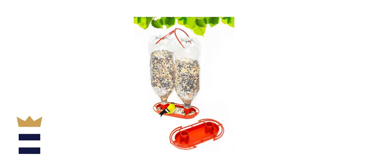 Gadjit Soda Bottle Jumbo Wild Bird Feeder Kit