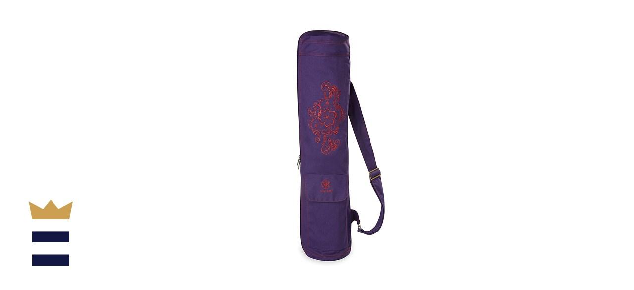 Gaiam Embroidered Cargo Yoga Mat Bag