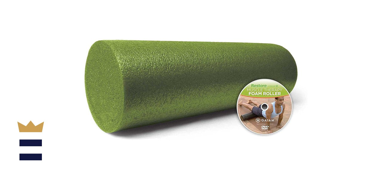 Gaiam Restore Muscle Massage Therapy Foam Roller