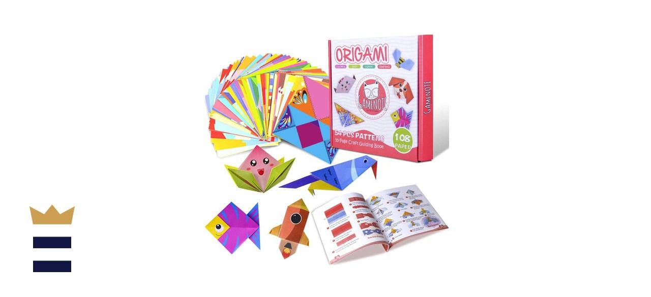 Gamenote Colorful Origami Kit