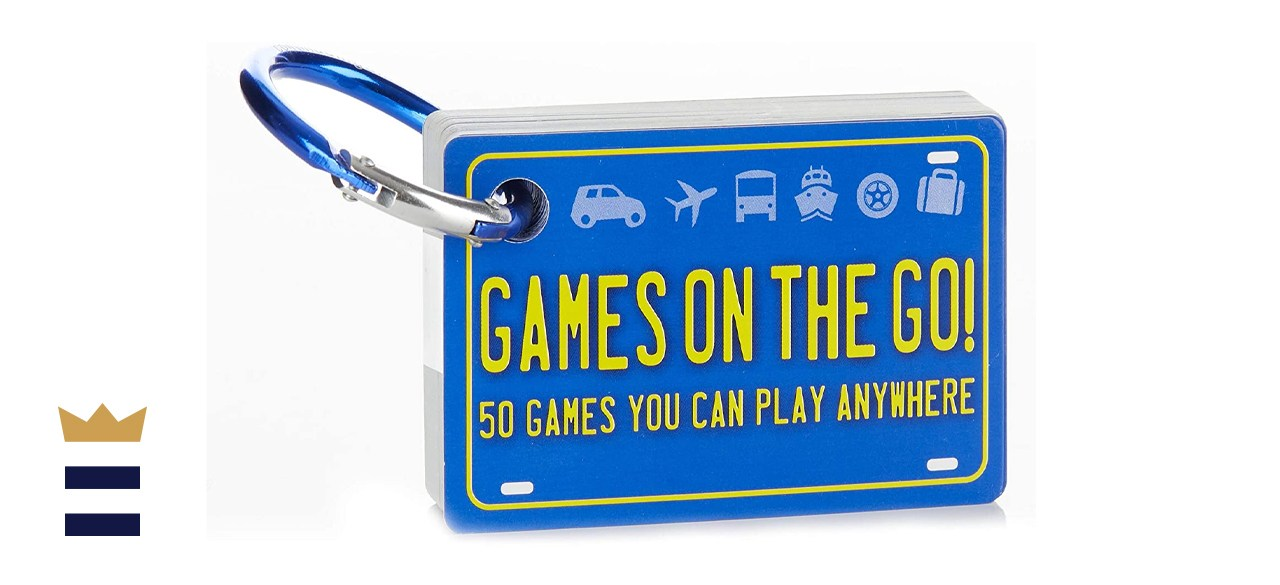 Games on the Go Portable Road Trip Family Games