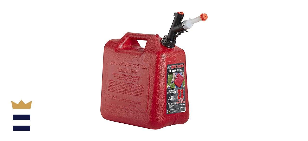 GARAGE BOSS GB351 Press 'N Pour Gas Can