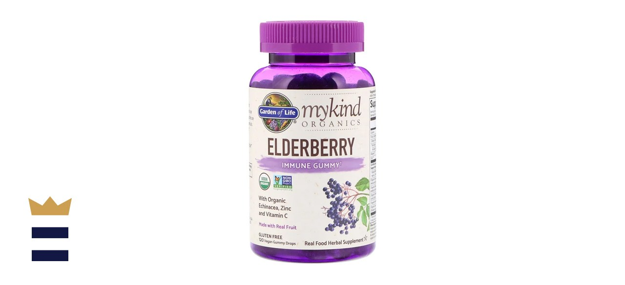 Garden of Life MyKind Organics Elderberry Immune Gummy