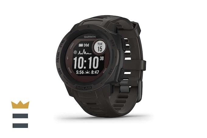 Garmin Instinct Solar-Powered Smartwatch