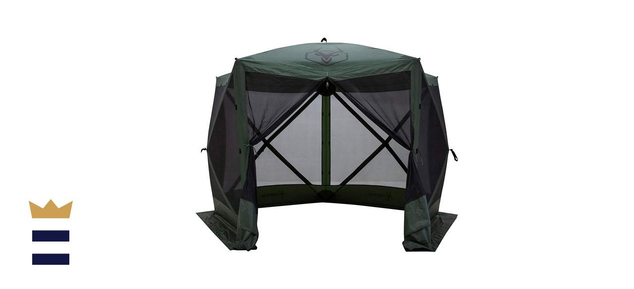 Gazelle 5-Sided Pop Up Gazebo Screened Tent