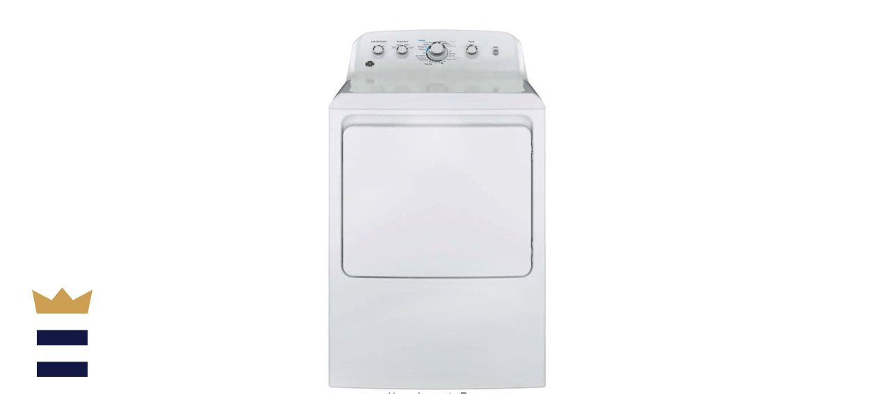 GE 7.2-Cubic-Foot 240-Volt Electric Vented Dryer