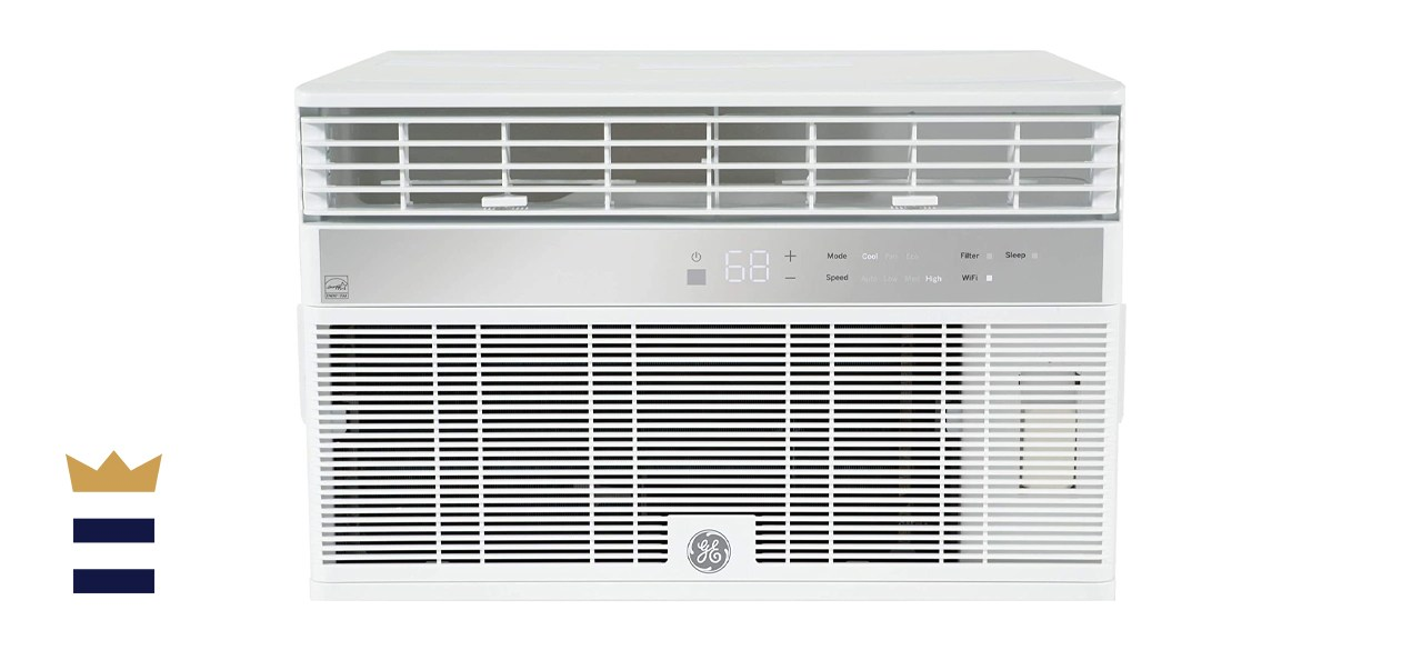 GE AHY10LZ Smart Window Air Conditioner with 10,000 BTU Cooling Capacity