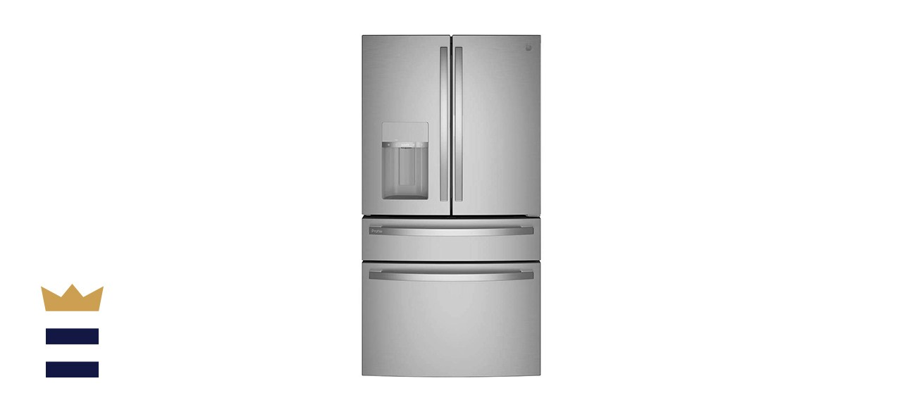 GE Profile 27.6 Cubic Foot Stainless French Door Smart Refrigerator