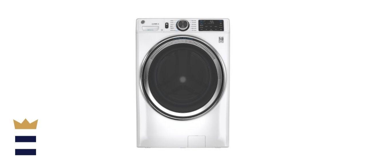 GE White Front Load Washing Machine