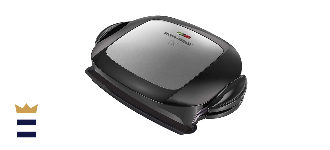 George Foreman 5-Serving Grill and Panini Press