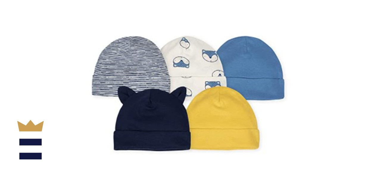 Gerber Baby 5-Pack Caps