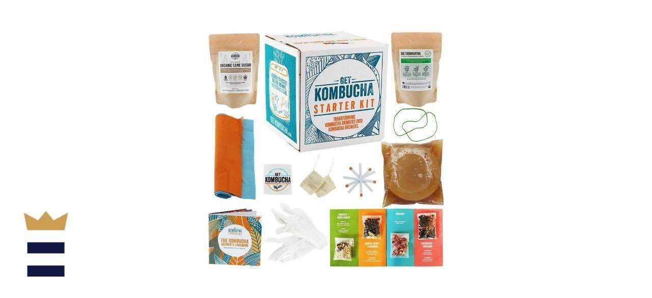 Get Kombucha Brewing Bundle Starter Kit