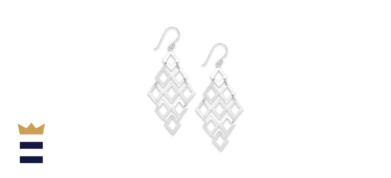 Giani Bernini Chandelier Earrings in Sterling Silver