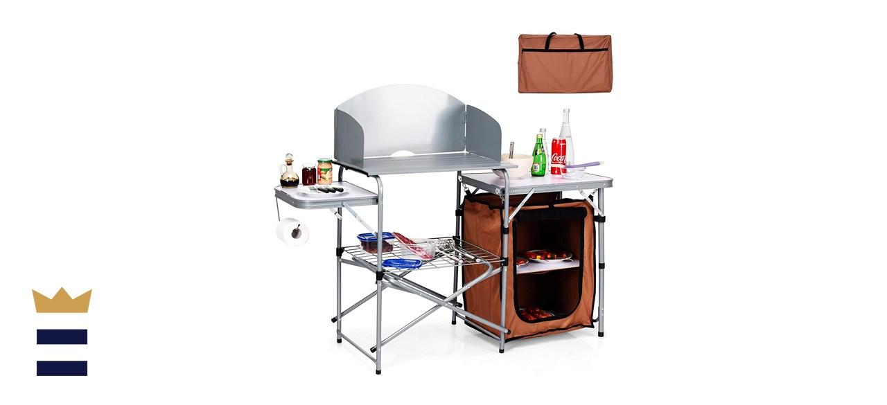 Giantex Folding Grill Table