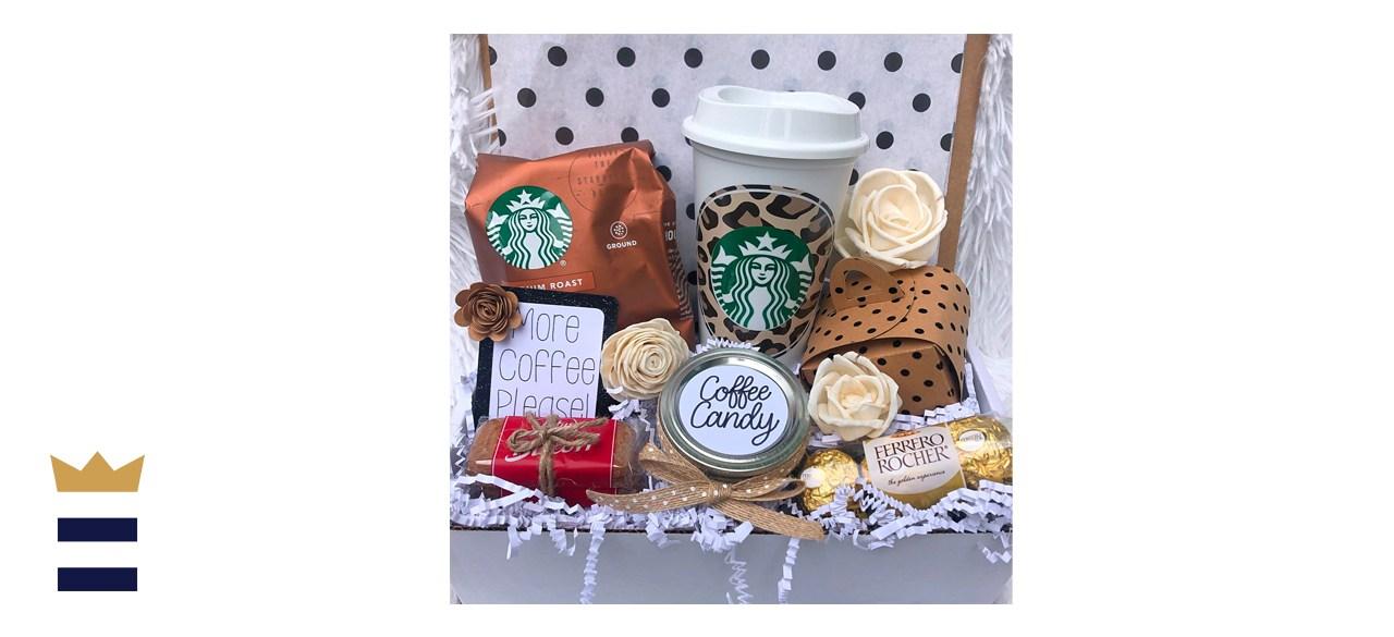GiftCreationsByMeg Starbucks Coffee Gift Box