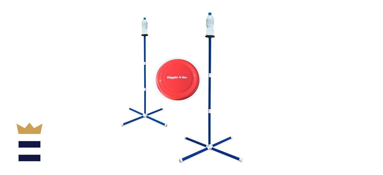 pedestal disc toss game
