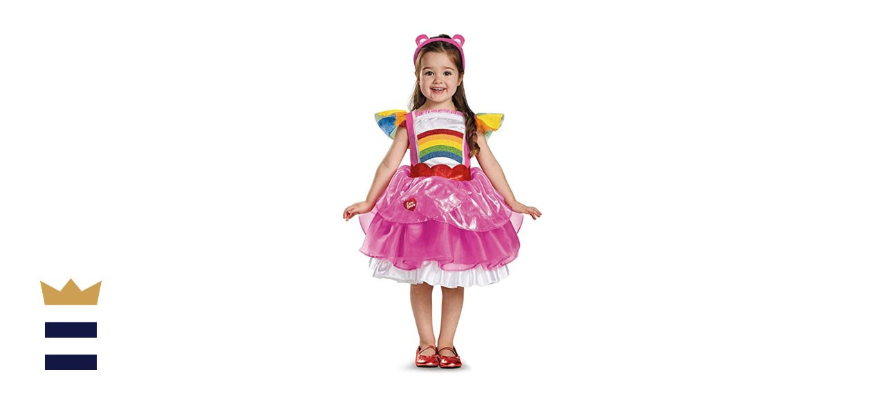 Girls Cheer Bear Deluxe Toddlers Tutu Care Bears Costume Dress