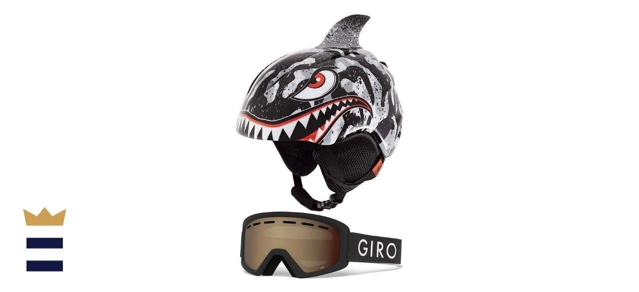 Giro's Launch Combo Kids' Snow Helmet