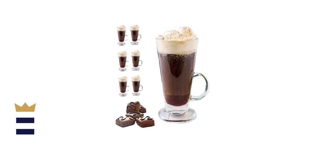 glass latte tumbler