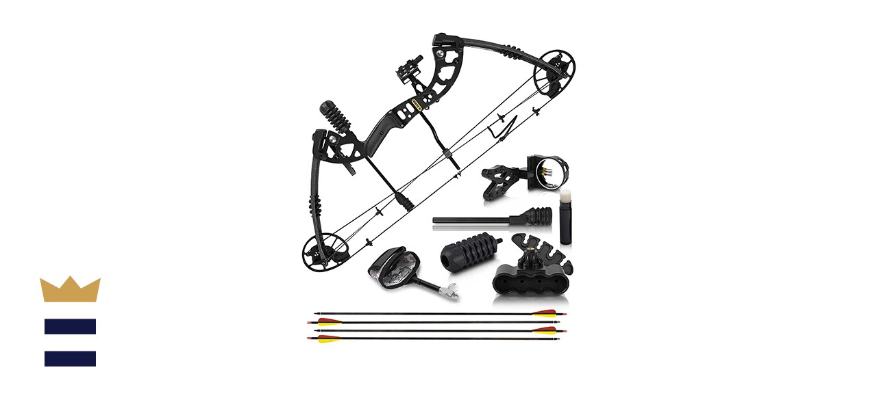 GlassHarrier Compound Bow and Arrow for Adults and Teens
