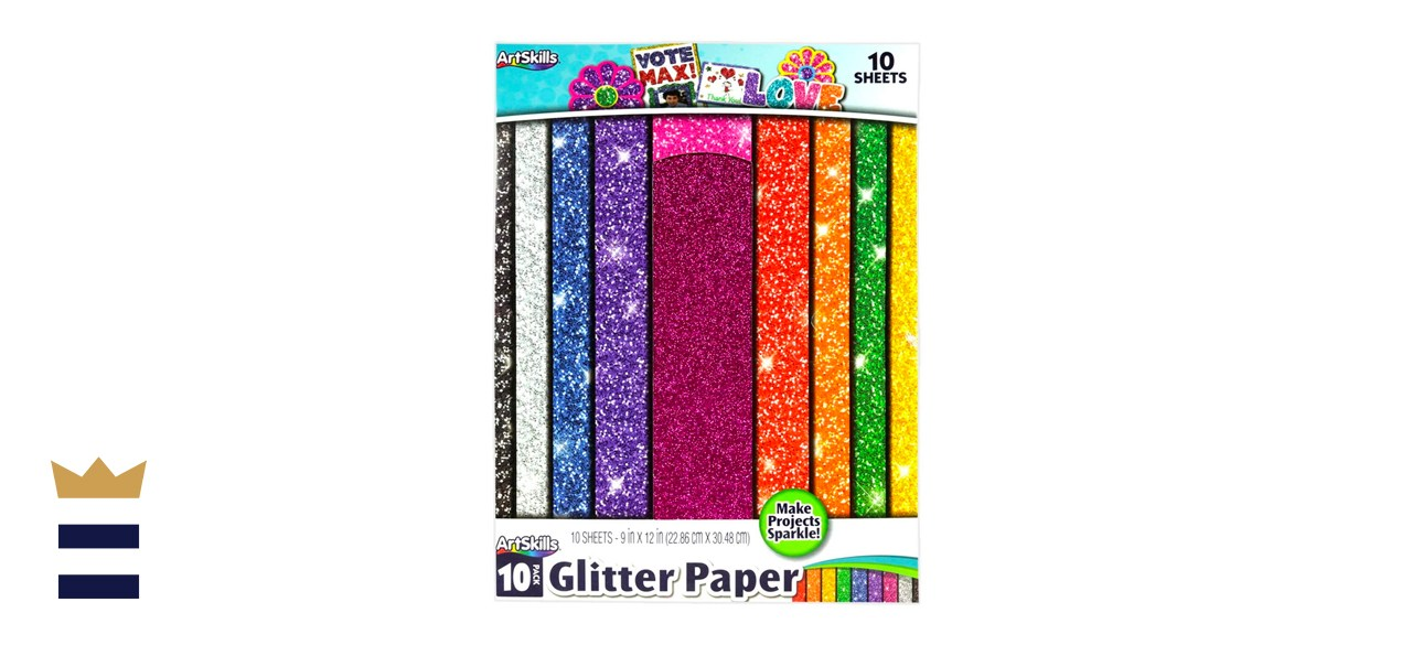 Glitter Paper for Arts and Crafts Projects