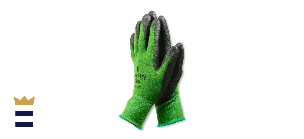 Pine Tree Tools Bamboo Gardening Gloves for Women and Men - M
