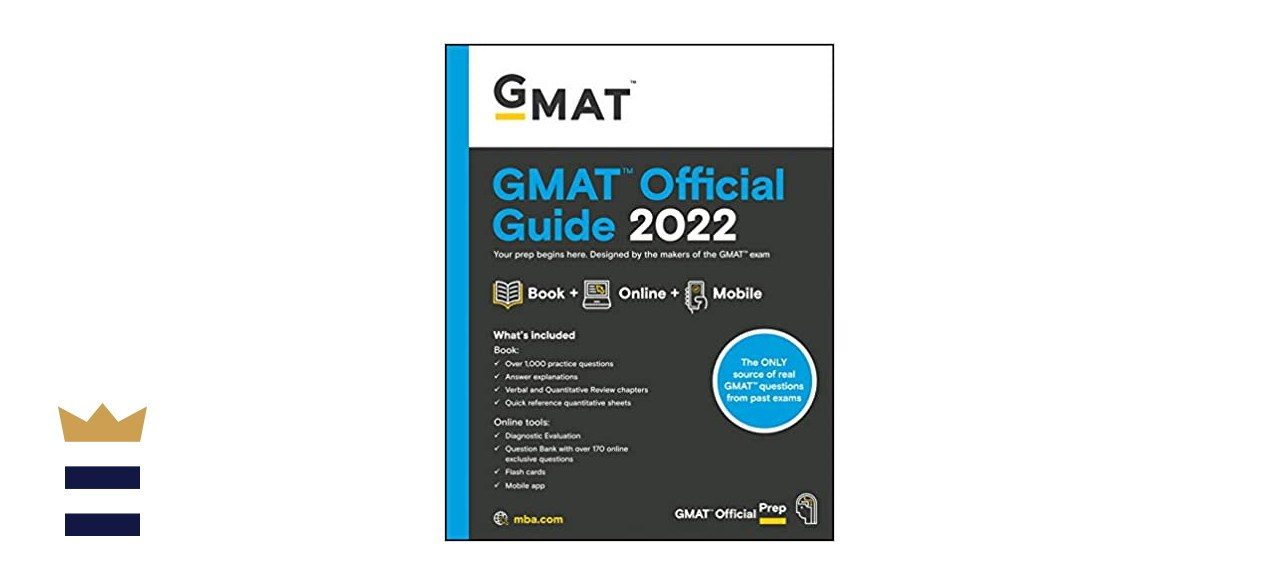 Image of the GMAT official guide 2022
