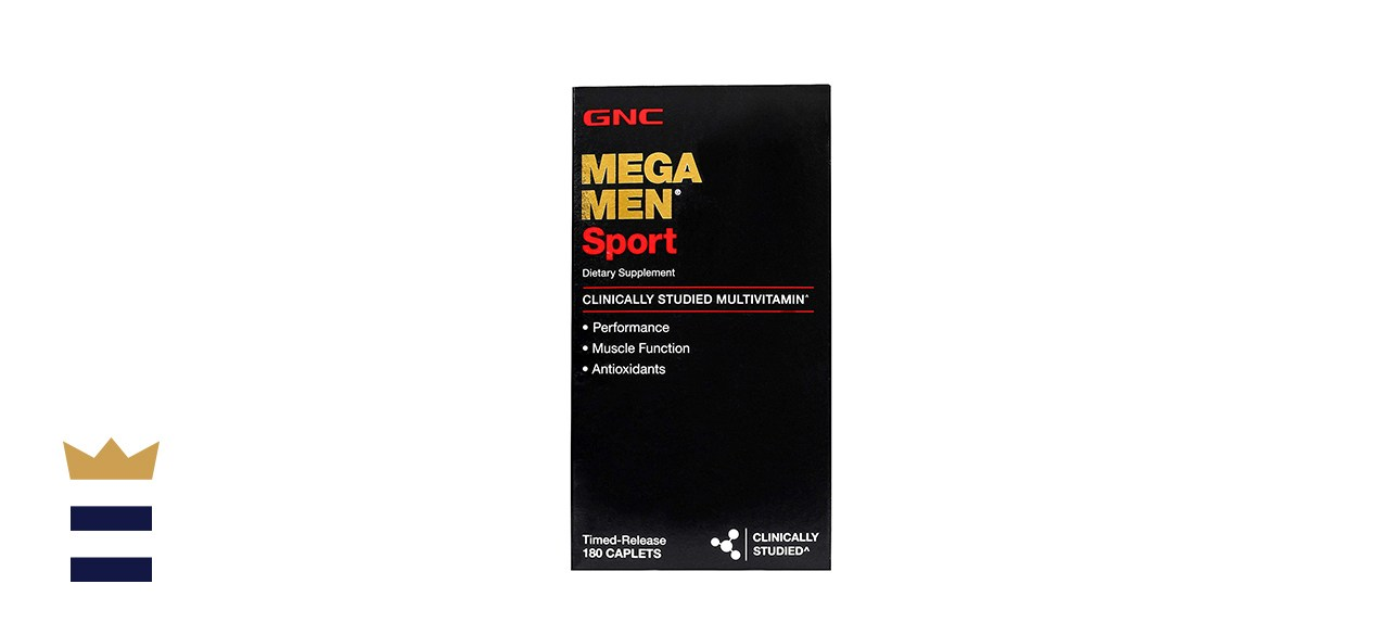 GNC Mega Men Sport Performance Muscle Function General Health Men's Multivitamin