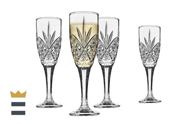 godinger champagne flutes