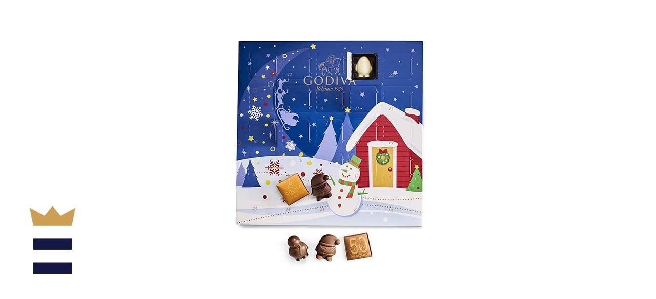 Godiva Chocolatier Holiday Gourmet Chocolate Advent Calendar