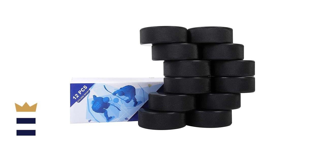 Golden Sport Ice Hockey Pucks