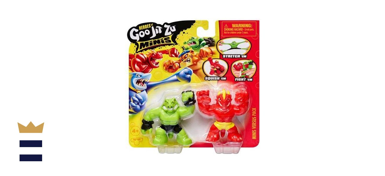 Goo JIT Zu Mini Pack Versus Blazagon vs Rockjaw