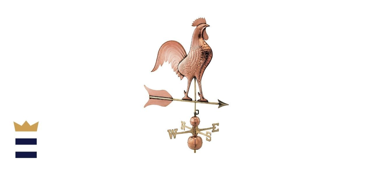 Good Directions' Barn Rooster Estate Weathervane