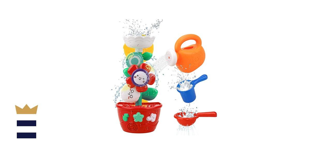 GOODLOGO Flower Bath Toys